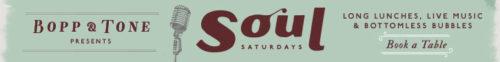 Bopp & Tone Soul Saturdays