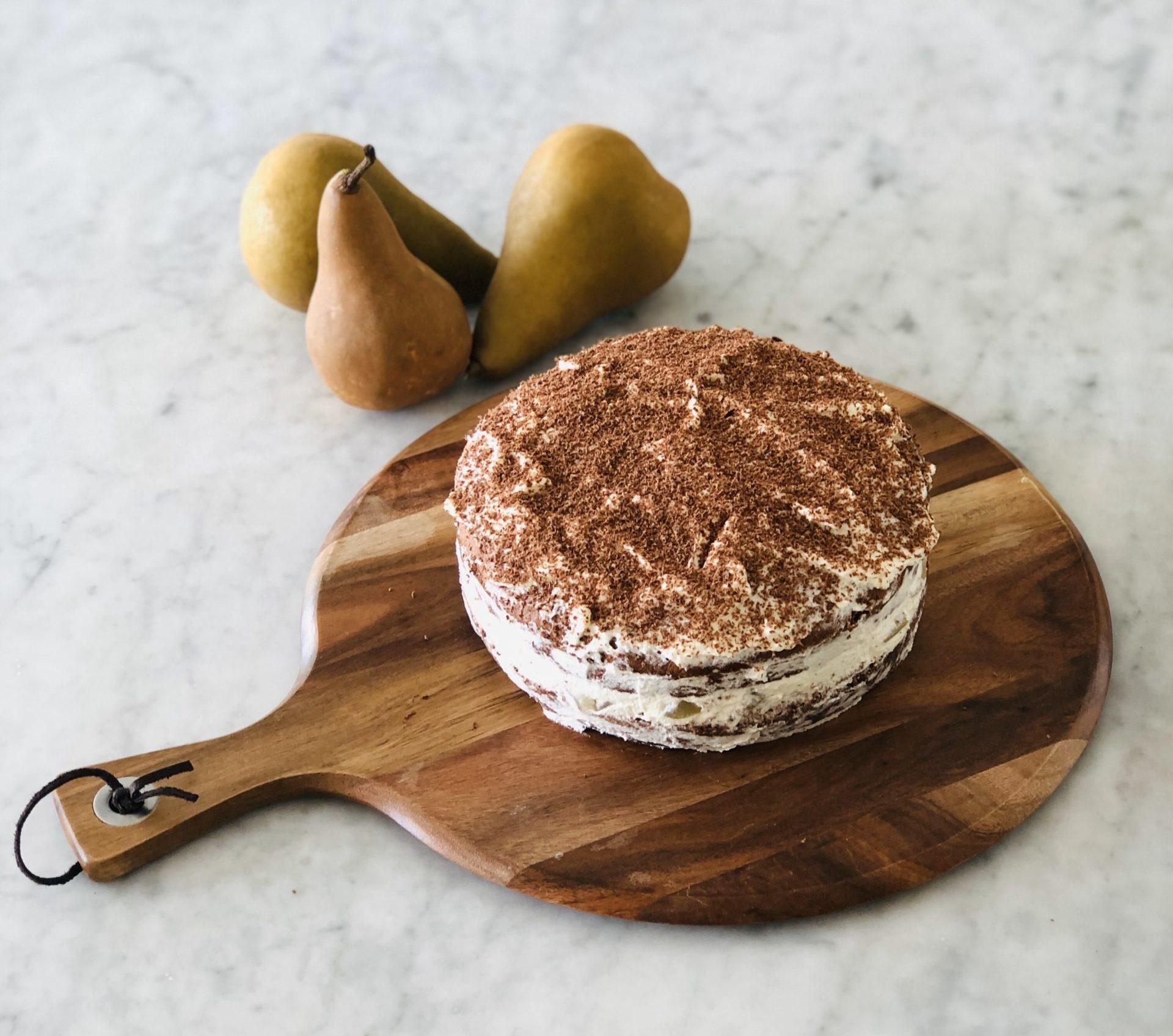 Applejack Chocolate Sponge Cake