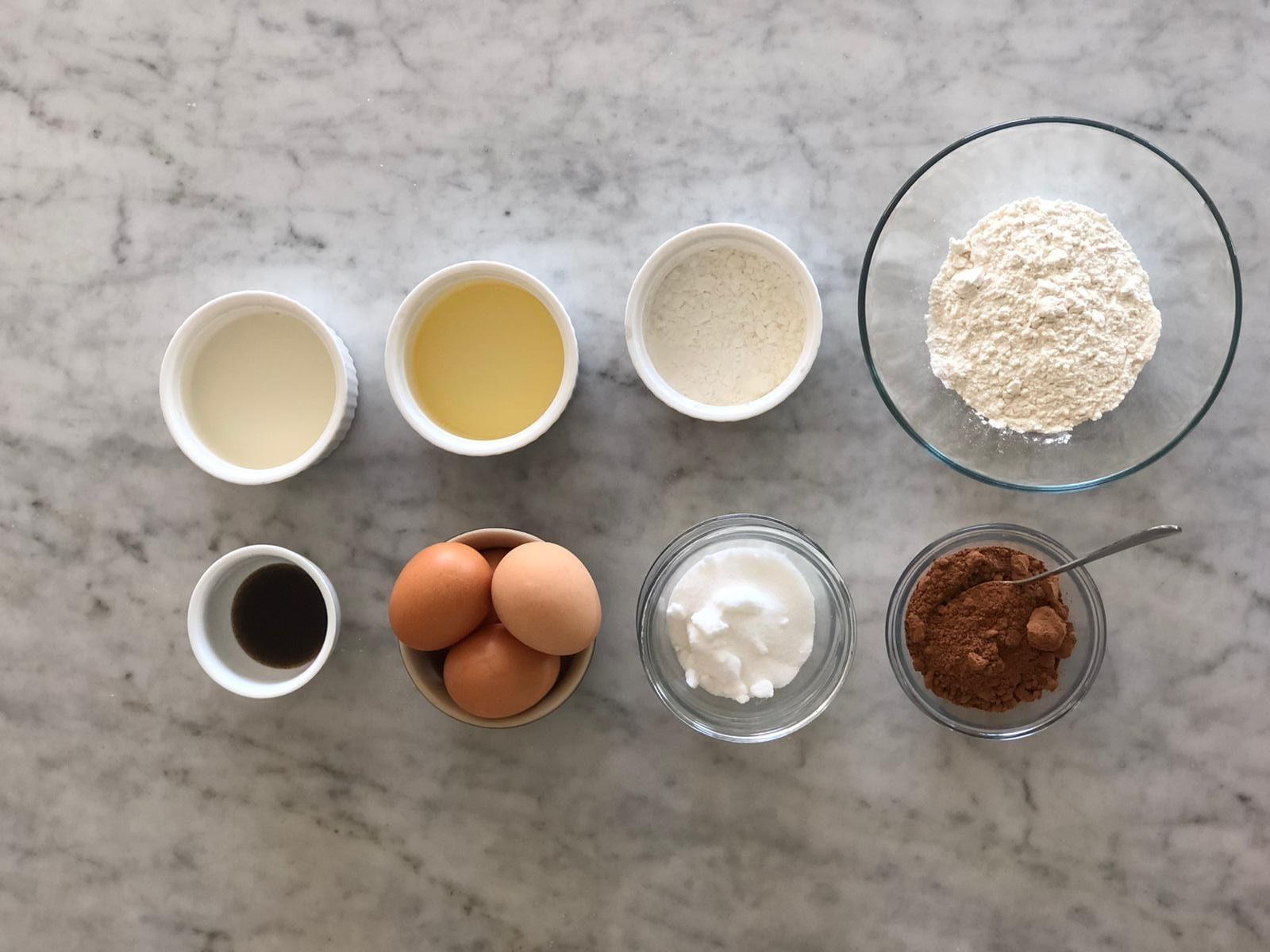 Sponge Cake Ingredients